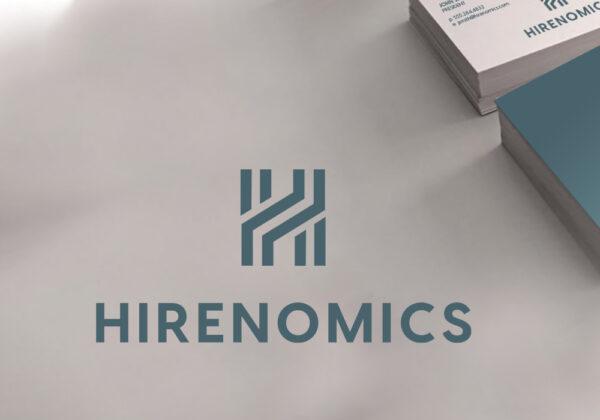 Hiremonics logo design
