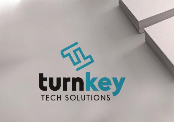 Logo Design for Turnkey Tech Solutions
