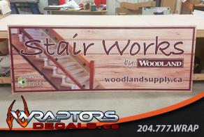 woodland-stairworks-dibond-sign