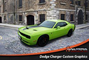 Dodge Charger custom graphics