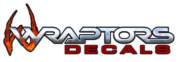 Wraptors Decals