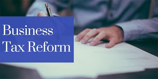 tax reform business