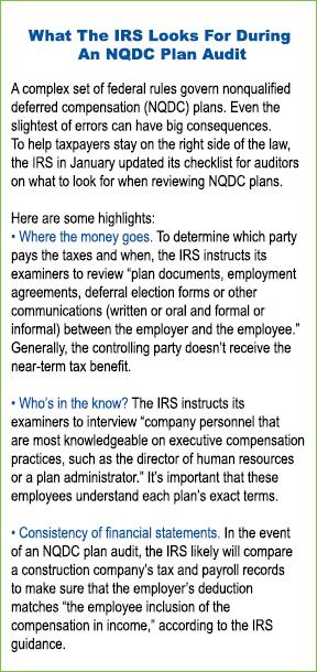 NQDC Plan Audit
