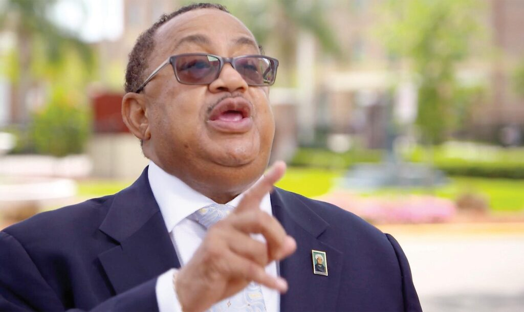 Chairman Belvin Perry