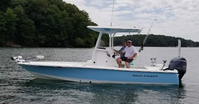 No Excuses Striper Fishing Charter Guide on Lake LanierNo Excuses Striper Fishing Charter Guide on Lake Lanier