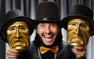 The Theatrical Mask for Best Actor Goes To?