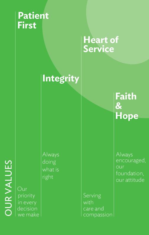 Cole Health core values