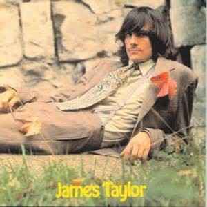 The cover of James Taylor's self-titled debut album on Apple Records.