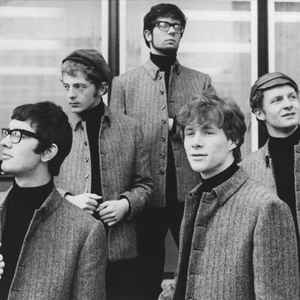 British invasion rock band Manfred Mann. The South African-born namesake is the man in the middle.