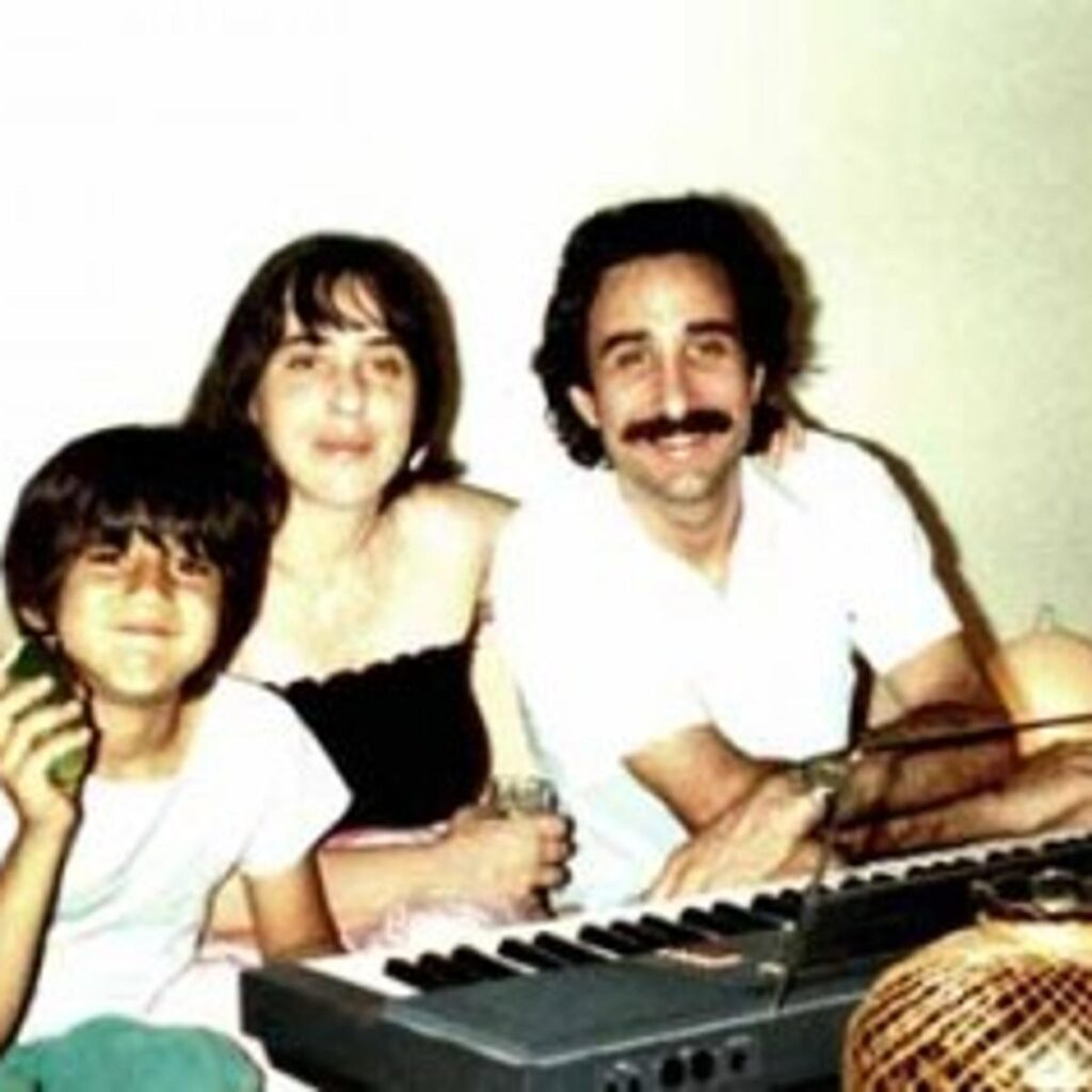 Laura Nyro with son Gil Bianchini visiting her brother Jan Nigro.