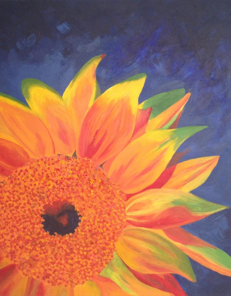 georgiasapounas_sunflower_painting