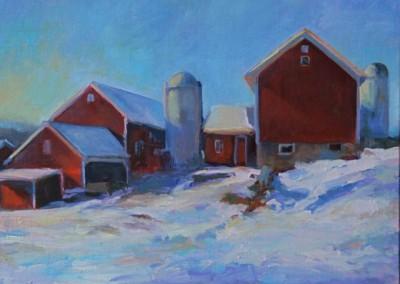 Baird Farm, Winter, Warwick NY