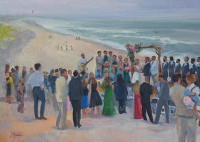 Beach wedding in Loveladies, LBI, NJ