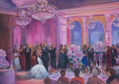Wedding First Dance at Il Villaggio, Carlstadt, NJ