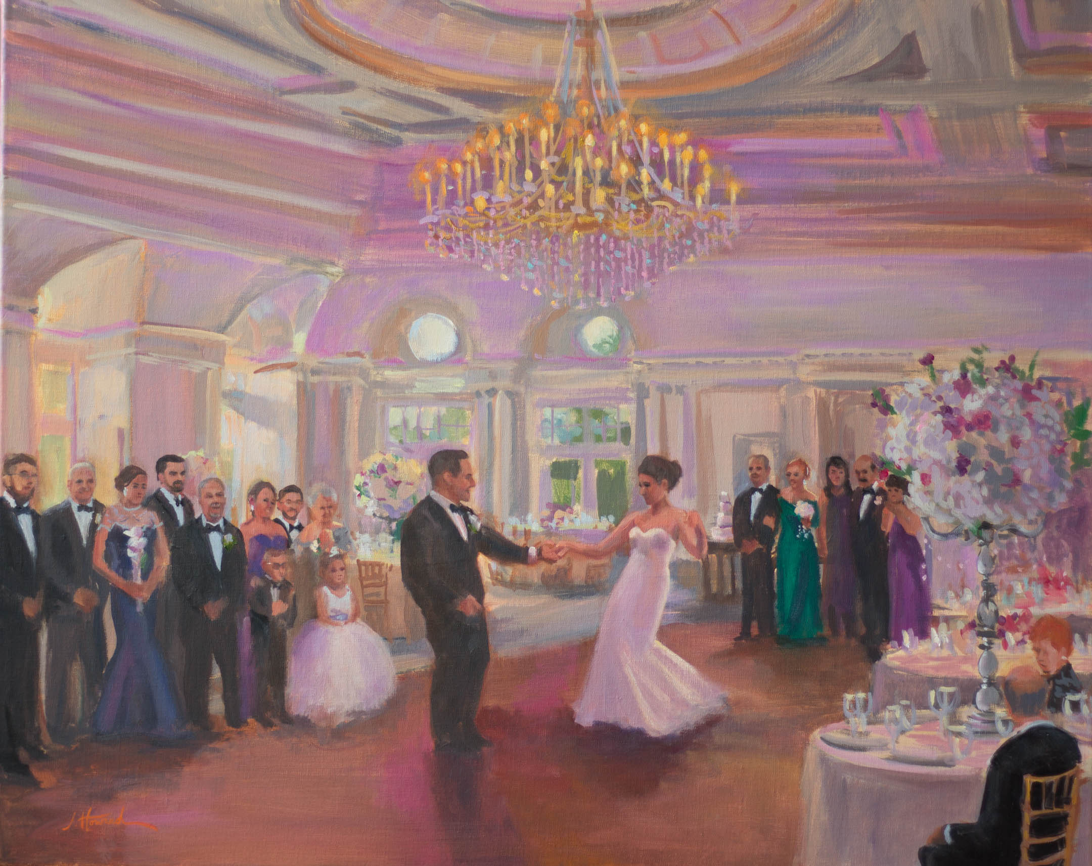 Park Chateau, East Brunswick, NJ, First Dance of Anthony and Patricia