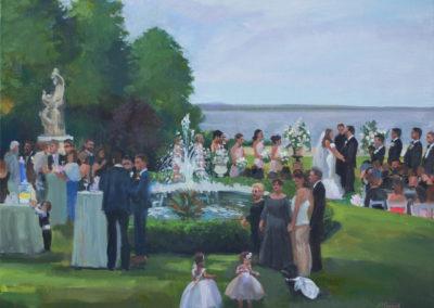 Rosecliff Mansion, Rhode Island Wedding,