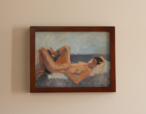 figure study 9 in frame