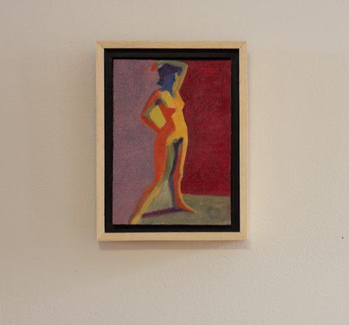 oil on panel, 5 x7