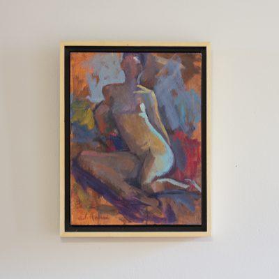 "Untitled 14, oil on panel, 9 x 12"""