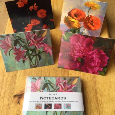 Floral Notecard Set by Janet Howard-Fatta