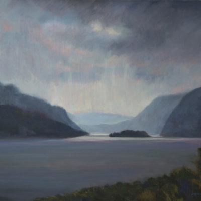 Storm Up the Hudson