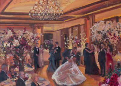 Live Event Painting by janet Howard-Fatta