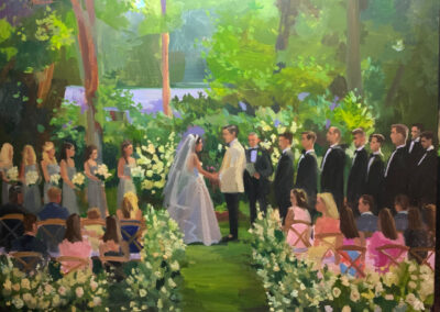 Live Event Painting by Janet