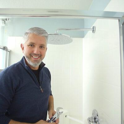 QUICK And EASY Rain Shower Head Upgrade You Can Do | DIY Rain Shower Head