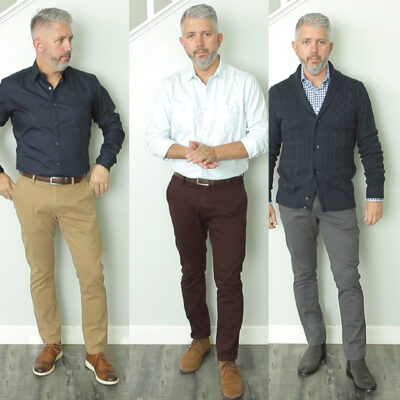 How to Style Colored Chinos This Fall – Men's Fall Outfits