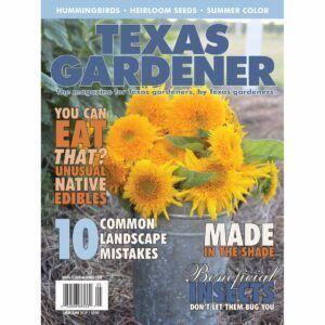 Texas Gardener Subscriptions and Renewals