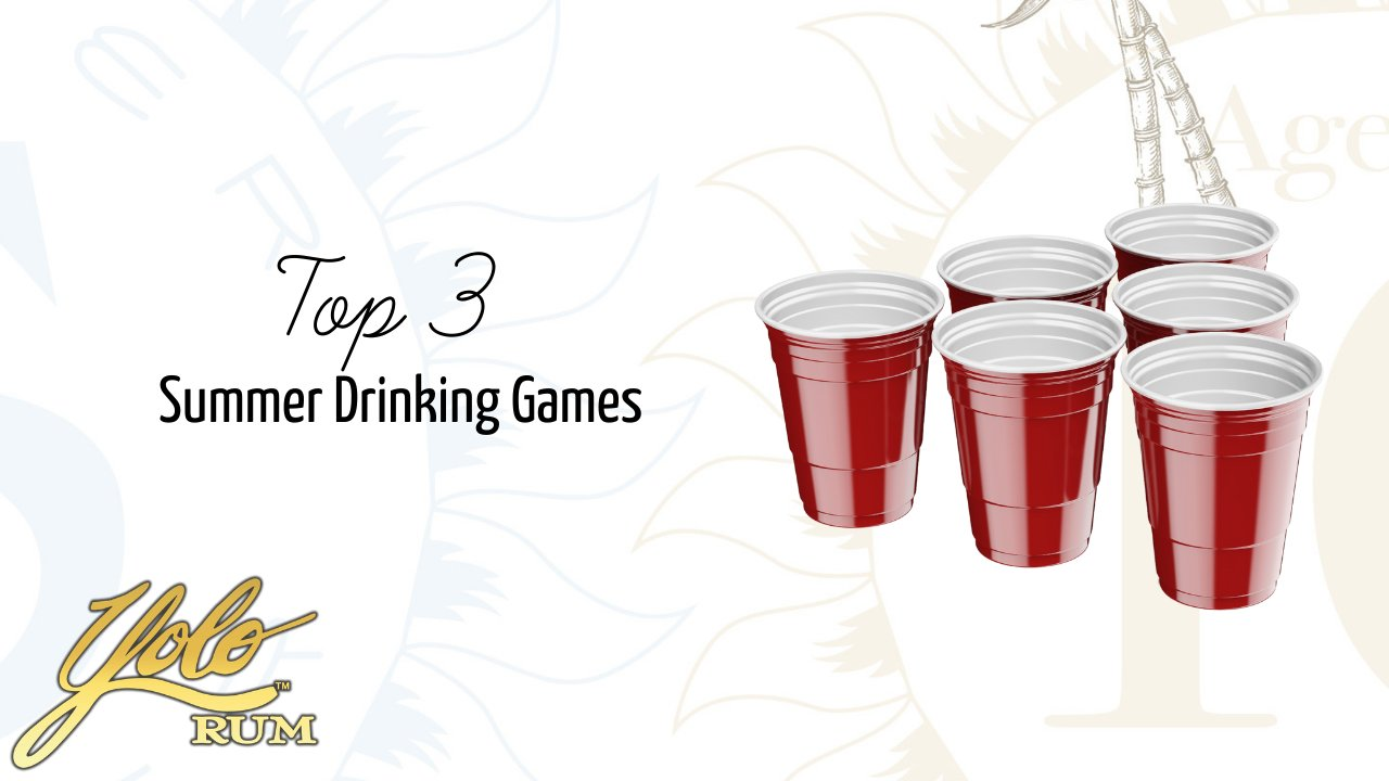 Top 3 Summer party drinking games