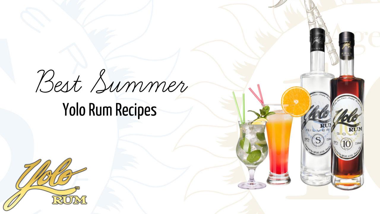 best summer fun rum cocktials