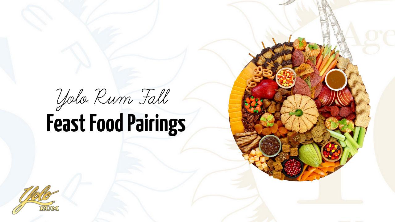 fall feast rum food pairings