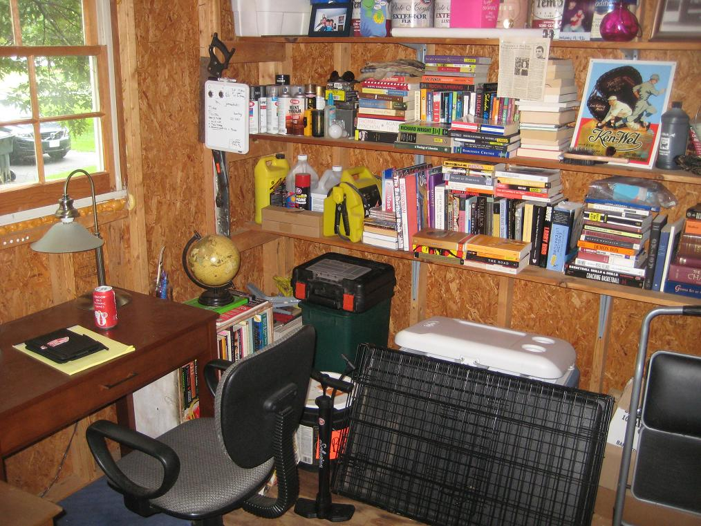 My Writing Workshop, Quite Literally