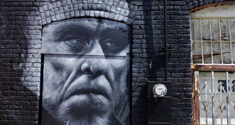 charles bukowski mural