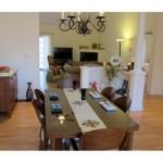 Dining Room at Olde Salem Village Condos in North Andover