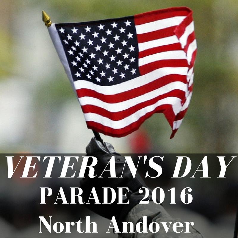 Veteran's Day Parade North Andover 2016