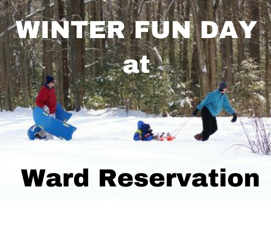 Winter Fun Day Ward Reservation