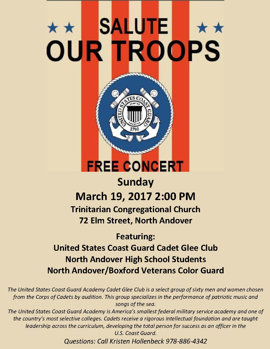 Salute Our Troops Concert North Andover