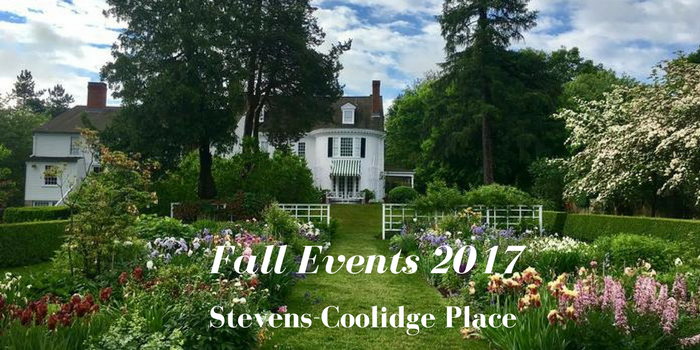 2017 Stevens Coolidge Place Events North Andover