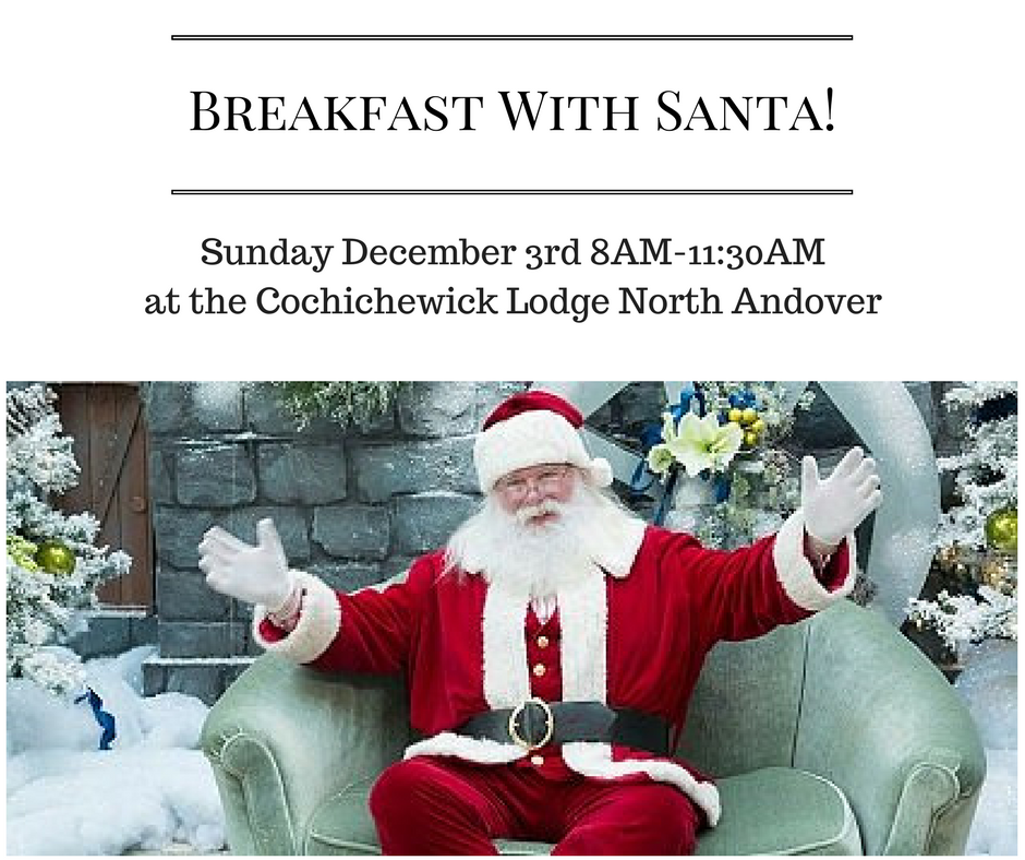 Breakfast With Santa North Andover 2017