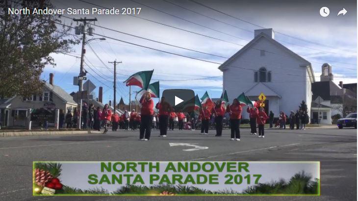 North Andover Santa Parade