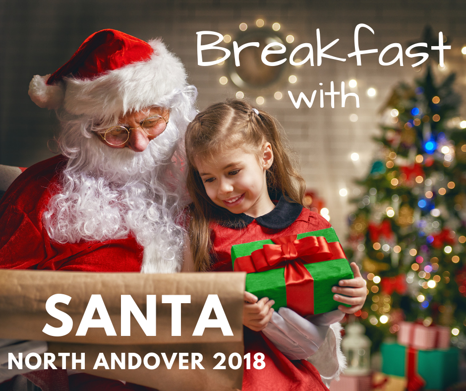 North Andover Breakfast with Santa2018