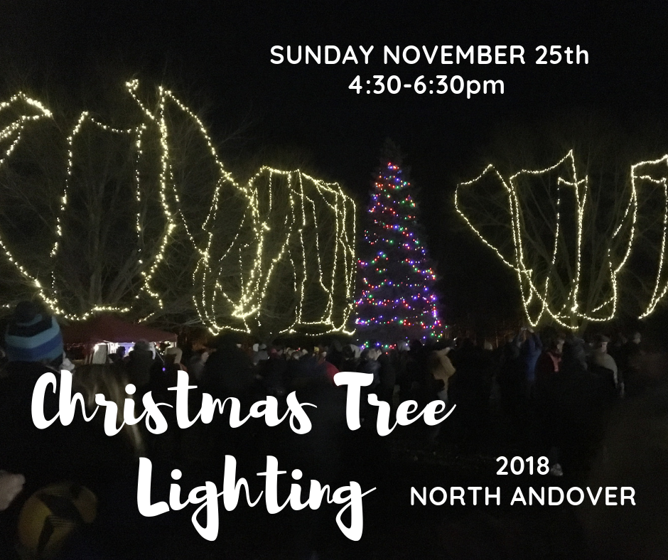 North Andover Christmas Tree Lighting 2018