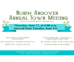 North Andover Town Meeting