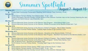 North Andover Summer Events