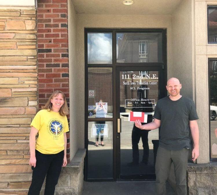 43 North Iowa and Trinity Lutheran Church connect through pen pal program