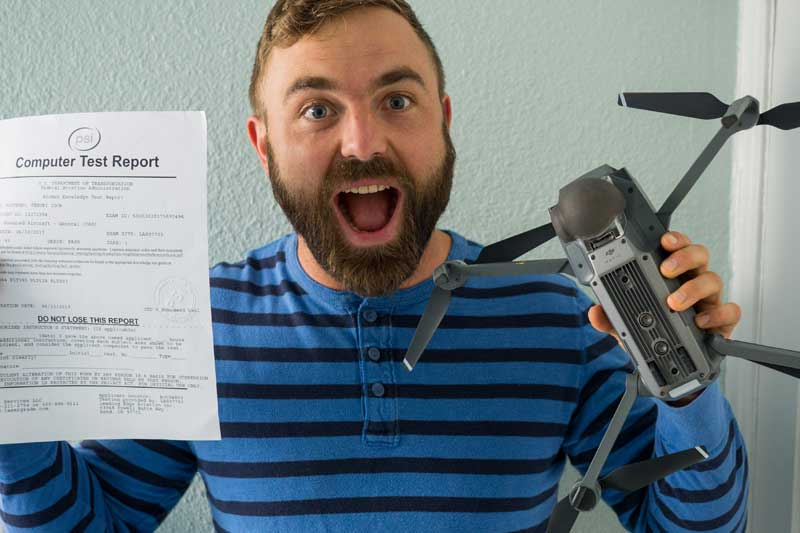 FAA Part 107 Drone Test: How I passed with a 93% score with minimal effort