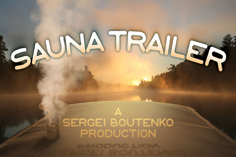 Sauna Trailer   How to Build a Mobile Banya in 45 Grueling Steps