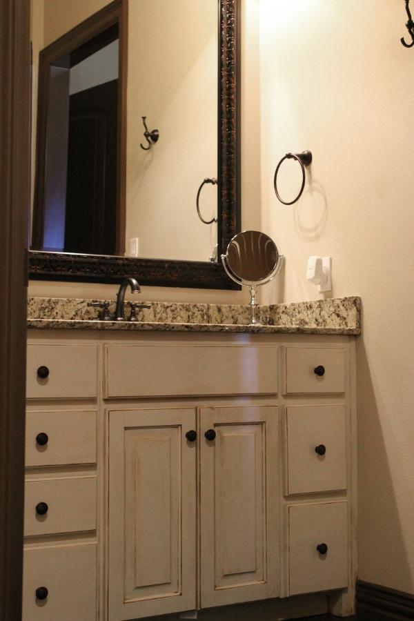 Bathroom cabinetry